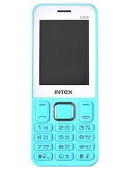 Intex Leo Dual Sim Phone - Sky Blue & White