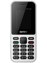 Intex Eco 102 Dual Sim Phone - White