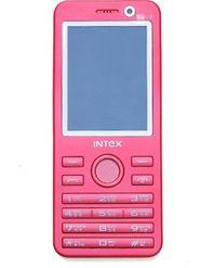 Intex Turbo Duoz Dual Sim Phone - White & Pink