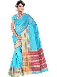 Adah Fashions Light Blue South Silk Saree -888-110