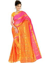 Adah Fashions Multicolor South Silk Saree -888-115