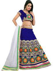 Styles Closet Designer Velvet & Net Semi Stitched Lehenga Choli -Bnd-Pc5003