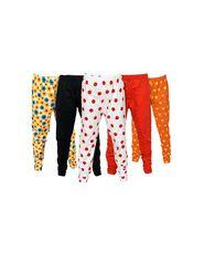 Pack of 5 Little Star Girl's Multicolor Leggings - DWLF_30005_WBRO