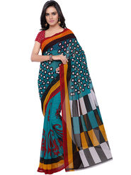 Florence Printed Faux Georgette Sarees -FL-11230