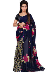 Florence Printed Faux Georgette Sarees FL-11747