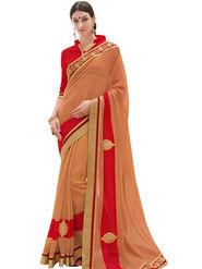 Indian Women Embroidered Georgette Saree -Ga20229