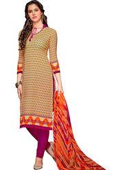 Khushali Fashion Crepe Printed Dress Material -Hnyfdzl35013