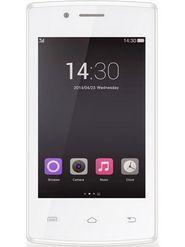 Hitech Amaze S315 - White / Golden 3.5 inch 3G KitKat Dual SIM Smartphone