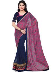 Indian Women Georgette Saree -IC40429