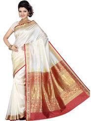 Ishin Art Silk Embroidered Saree - Multicolour_SNGM-1725
