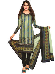 Javuli 100% pure Cotton Printed  Dress material - Multicolour - shree-new205