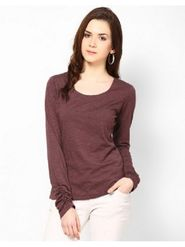 Kaxiaa Cotton S Jersey Plain Top -K-704A