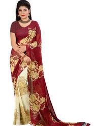 Arisha Georgette Printed Saree -Khgsstar203