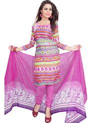Khushali Fashion Crepe Printed Dress Material -Kpplk10008