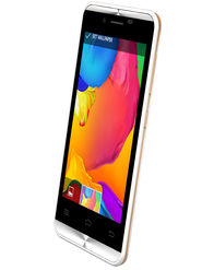 Karbonn Alfa A90 Dual Sim Android Kitkat 3G Smartphone - White&Gold