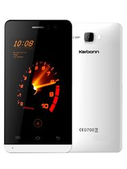Karbonn Titanium S15 Ultra Android Kitkat Quad core Processor 3G Smartphone - White