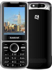 Kestrel KM-100 Dual Sim Phone - Black