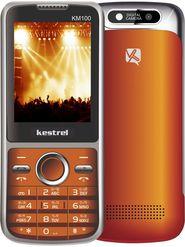 Kestrel KM-100 Dual Sim Phone - Orange