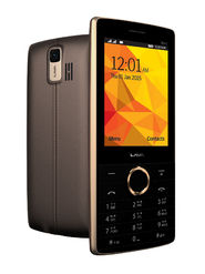 Lava SPARK ICON2 2.8 Inch(7.1cm) Dual SIM Mobile Phone - Brown Champ