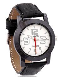 Marco Wrist Watch for Men - White_MR-GR011-WHT-BLK