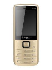 Hitech Yuva Y3 Dual SIM - Coffee