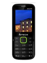 Hitech Xplay 206 Dual SIM - Balck & Green