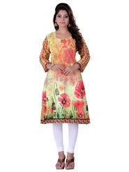 Viva N Diva Cotton Floral Print Kurtis -Navya-Vnd-31