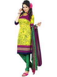 Khushali Fashion Crepe  Printed Unstitched Dress Material -PFCS517