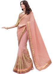 Indian Women Net Jacquard And Net  Saree -Ra10512