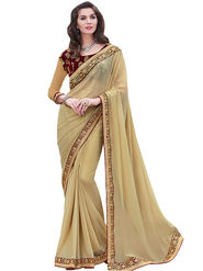 Indian Women Georgette  Saree -Ra10520