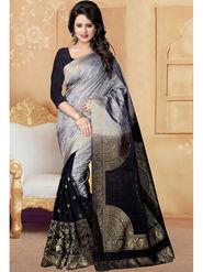 Viva N Diva Banarasi Silk and Jacquard Saree Rinnie-1371
