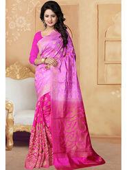 Viva N Diva Banarasi Silk and Jacquard Saree Rinnie-1373