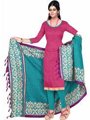 Khushali Fashion Art Silk Self Unstitched Dress Material -SSZVR1003