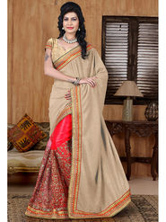 Viva N Diva Lycra and Net Sequence  Saree Sangini-190