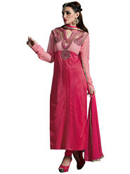 Thankar Semi Stitched  Heavy Laycra Embroidery Dress Material Tas274-23004