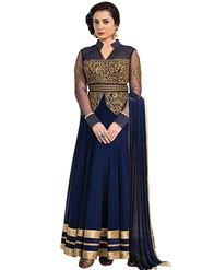 Thankar Semi Stitched  Net Embroidery Dress Material Tas281-77A