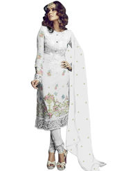 Thankar Semi Stitched  Georgette Embroidery Dress Material Tas282-2151