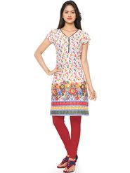 Thankar Printed Cotton Stitched Designer Kurti -Tdk136-At7