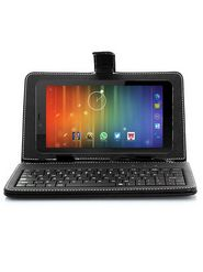 VOX 7inch V105 Dual SIM 3G Calling Android 4.4.2 Kitkat Tablet Cum Mini Laptop with 16GB SD Card