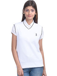 Eprilla Spun Cotton Plain Sleeveless Sweater  -eprl02