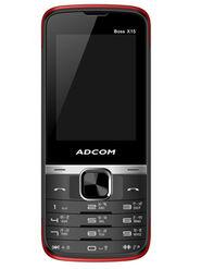 Adcom Boss X15 Dual Sim Phone - Black&Red