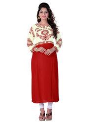 Viva N Diva Cotton Rayon Printed Kurtis -Zeesha-Vnd-2005-A