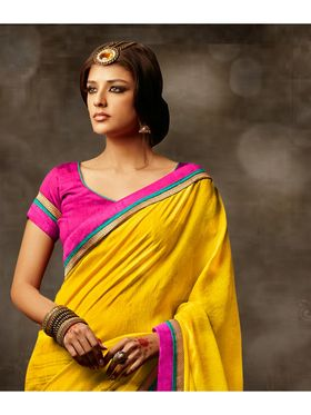 Viva N Diva Printed Bhagalpuri Saree -sa05