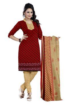Combo of 7 Viva N Diva Cotton Printed Un-Stitched Dress Material Combo-1-Disha