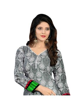 Viva N Diva Printed Unstiched Cotton Dress Material_11027-Milee