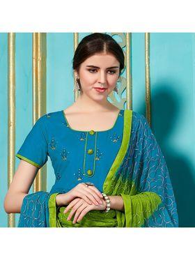 Viva N Diva Emroidered Unstiched  Dress Material_11138-Elifa