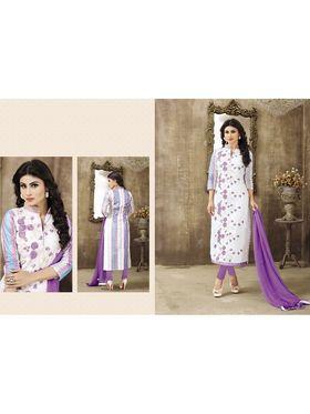 Viva N Diva Emroidered Unstiched  Dress Material_11290-Shruti