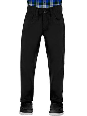 Uber Urban 100% Cotton Regular Fit Boy's Trousers_8015191BCTNPBLK