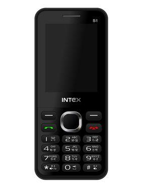 Intex Turbo S1 Dual SIM Mobile Phone - Black