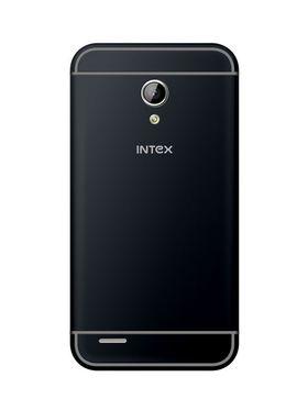 Intex Aqua 3G+ - Dual SIM/ 4 inch Display/ Android 4.4 Kitkat/ Dual Camera - Blue